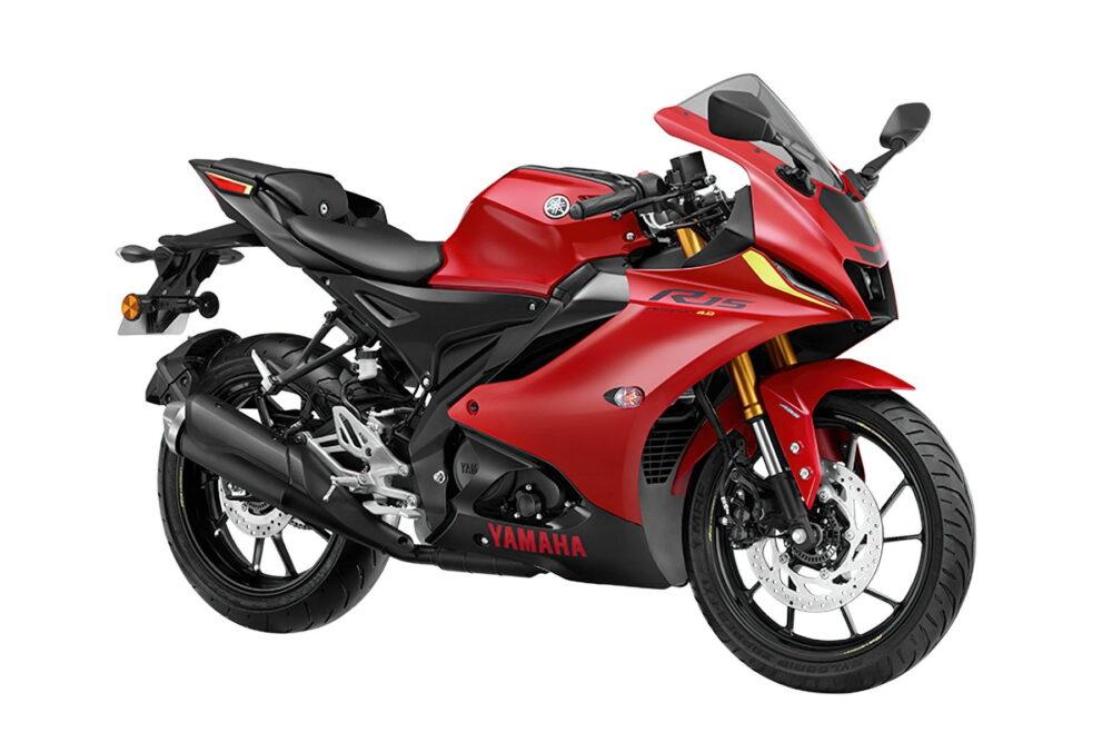 yamaha r15 version 4 2022 vermelha