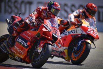bagnaia marquez aragão motogp
