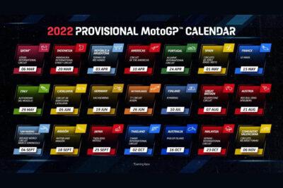 motogp calendário 2022