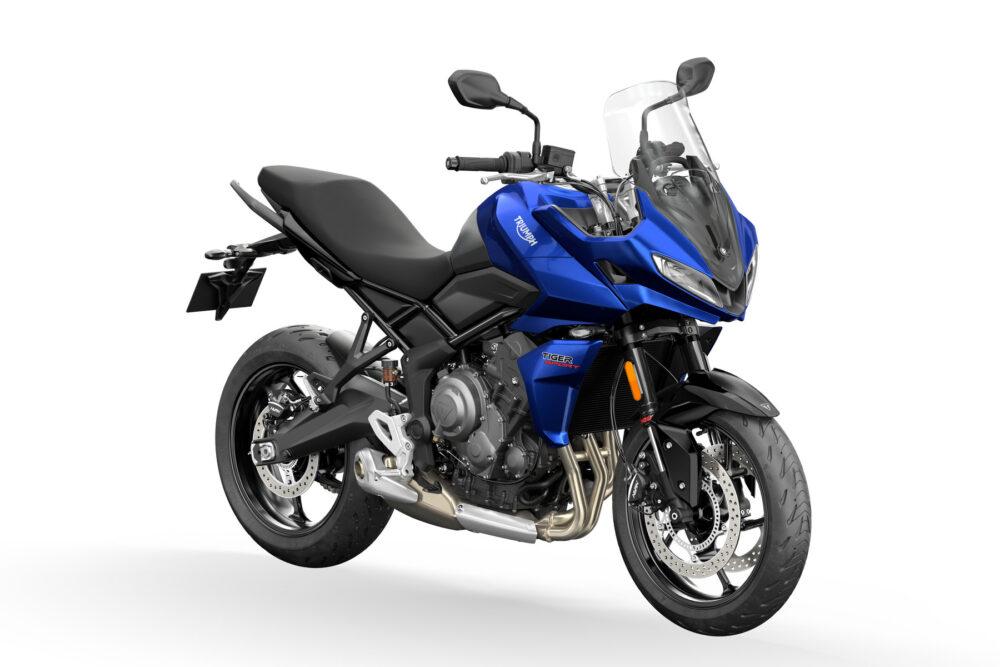 tiger sport 660 2022 azul frontal