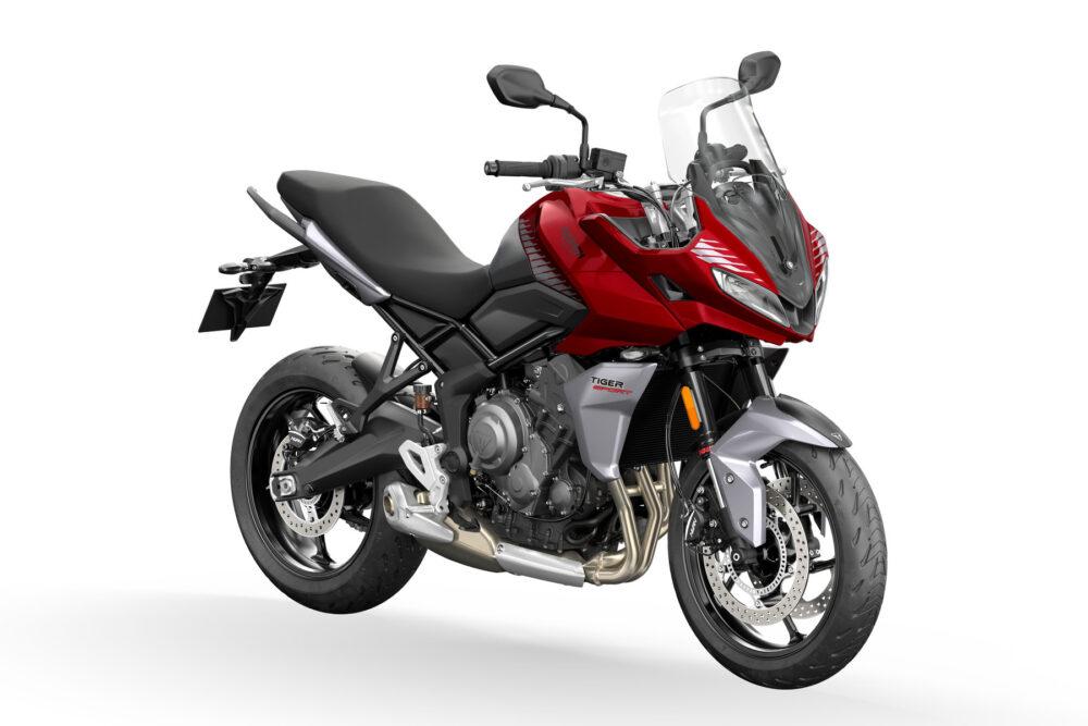 tiger sport 660 2022 vermelha frontal