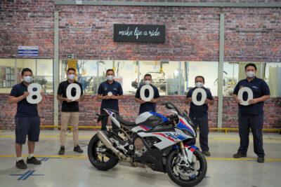bmw comemora 80 mil motos produzidas no brasil